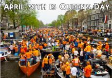 April 30 th is Queen's Day