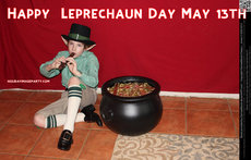 Happy  Leprechaun Day May 13th