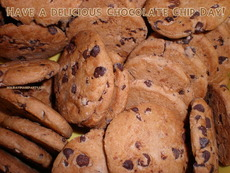 Have a delicious Chocolate Chip Day!