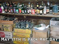 May 17th is Pack Rat Day