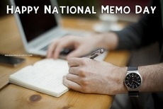 Happy National Memo Day