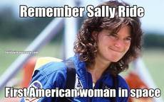 Remember Sally Ride First American woman in space