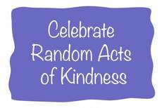Celebrate Random Acts of Kindness
