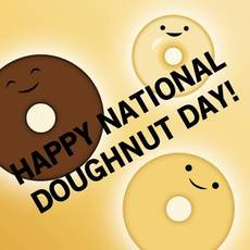 Happy National Doughnut Day