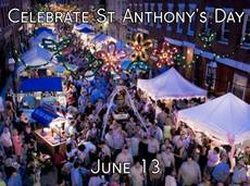 Celebrate St Anthony's Day June 13