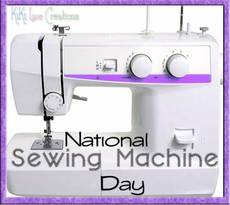 National Sewing Machine Day