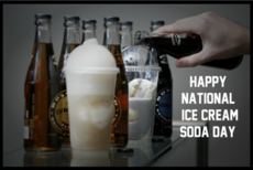 Happy National Ice Cream Soda Day
