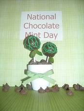 National Chocolate Mint Day