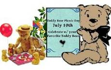 Teddy Bear Picnic Day July 10th