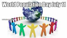 World Population Day July 11