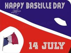 Happy Bastille Day 14 July