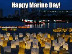 Happy Marine Day!