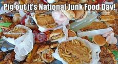 Pig out it's National Junk Food Day!