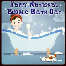 Happy National Bubble Bath Day