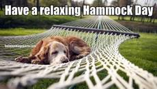 Have a relaxing Hammock Day