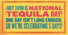 July 24th is Tequila Day