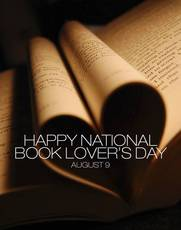 Happy National Book Lover's Day August 9