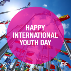 Happy International youth day