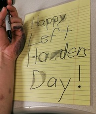 Happy Left Handers Day