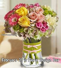 February 28 is Floral Design Day