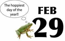 The hoppiest day of the year!! Feb 29
