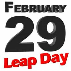 Feruary 29 Leap Day