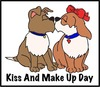 Search kiss and make up day