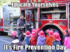 Search fire prevention day