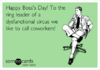 Search boss's day